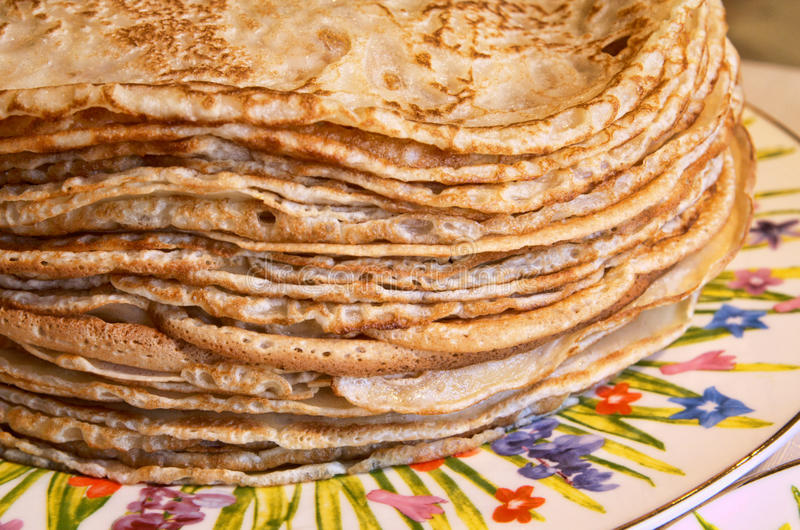 Download Russian blini stock image. Image of delicatessen, cafe - 9444947
