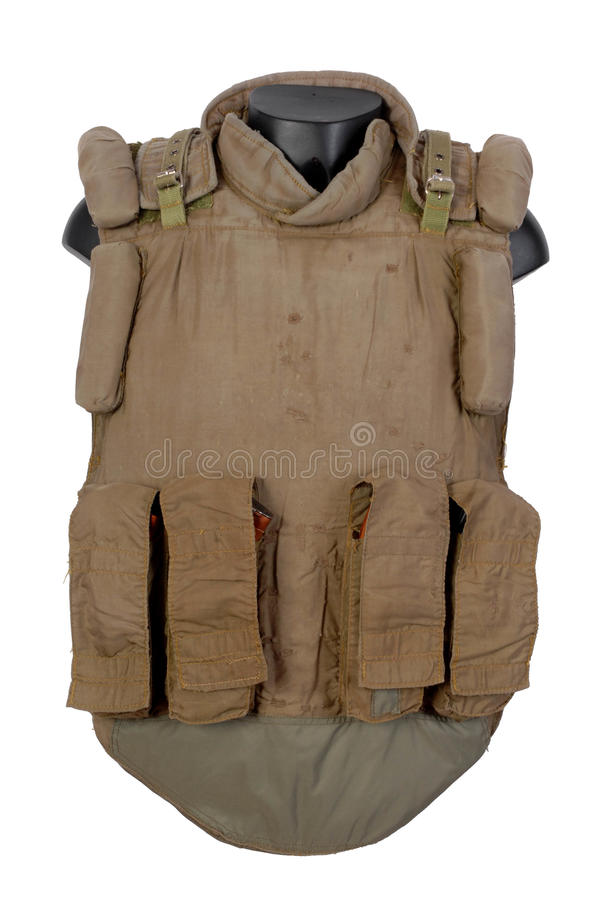 Russian body armour. 6B5 stock photography