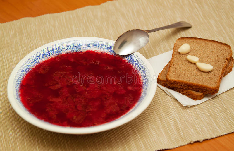 Download Russian borsch stock photo. Image of dinner, nutrition - 27535528