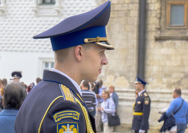 Download Russian cadet. editorial photography. Image of rank, parade - 28441817