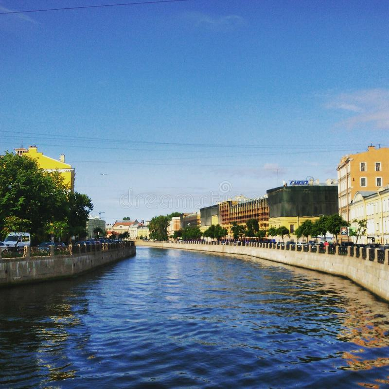 Russian Canal royalty free stock images
