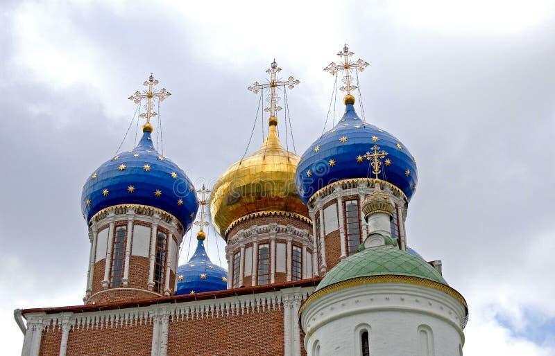 Russian Church stock photo