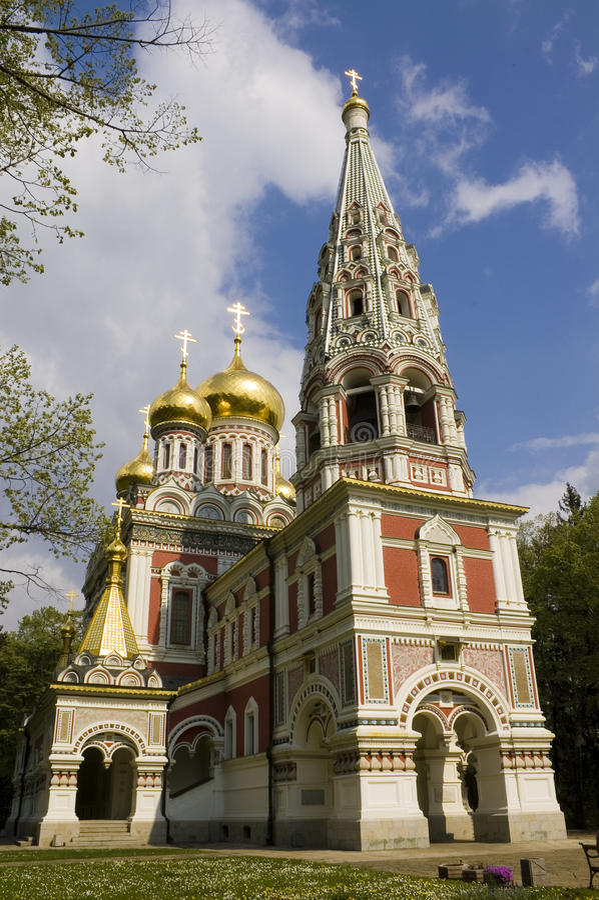 Russian church royalty free stock photo