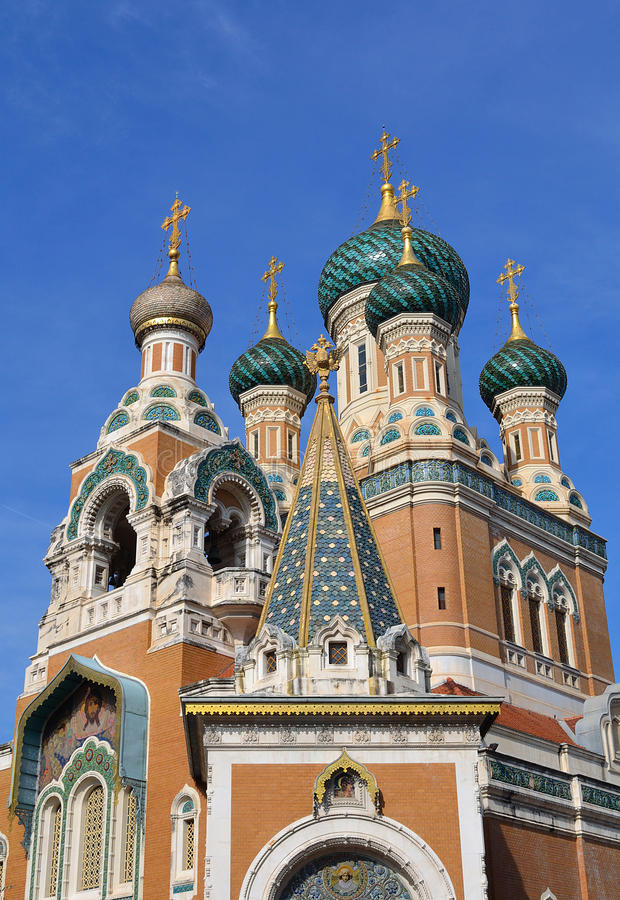 Download Russian Church In Nice, France Stock Photo - Image: 21436502