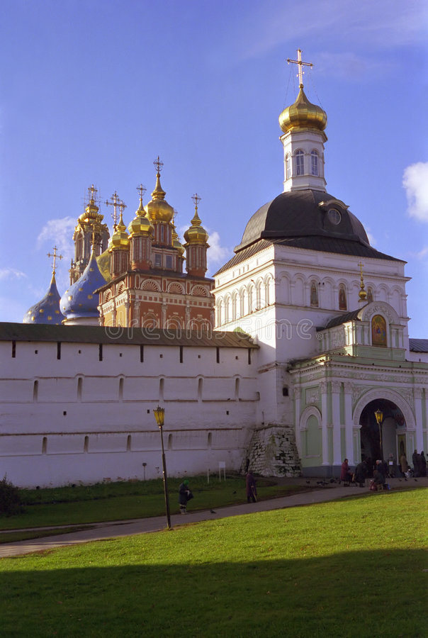 Download Russian Churches stock image. Image of blue, russian, former - 194949