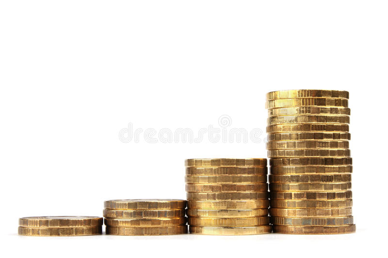 Download Russian Coins on White stock image. Image of metal, culture - 24789435