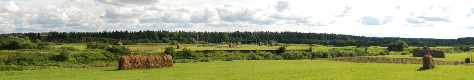 Russian countryside stock photo
