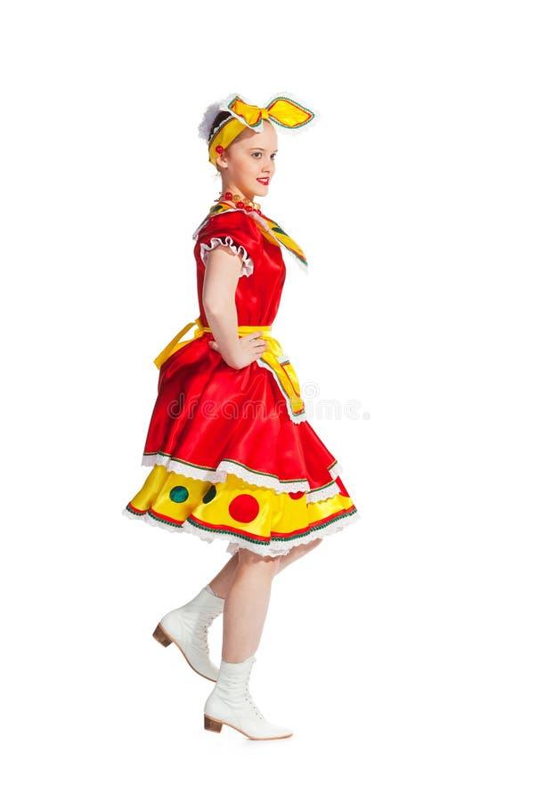 Russian dance royalty free stock photo