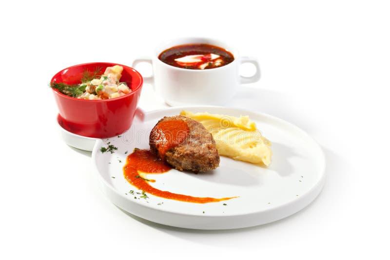 Russian Dinner stock photos