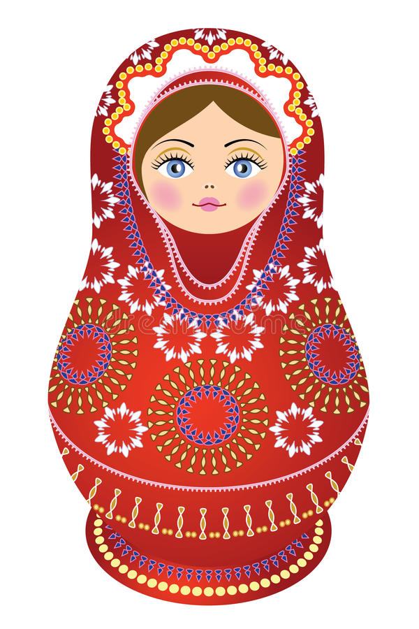 Free Russian Doll Red Stock Photo - 23529360