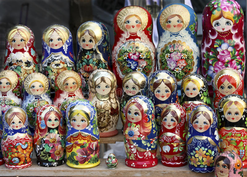 Download Russian dolls stock image. Image of still, many, unusual - 15402507