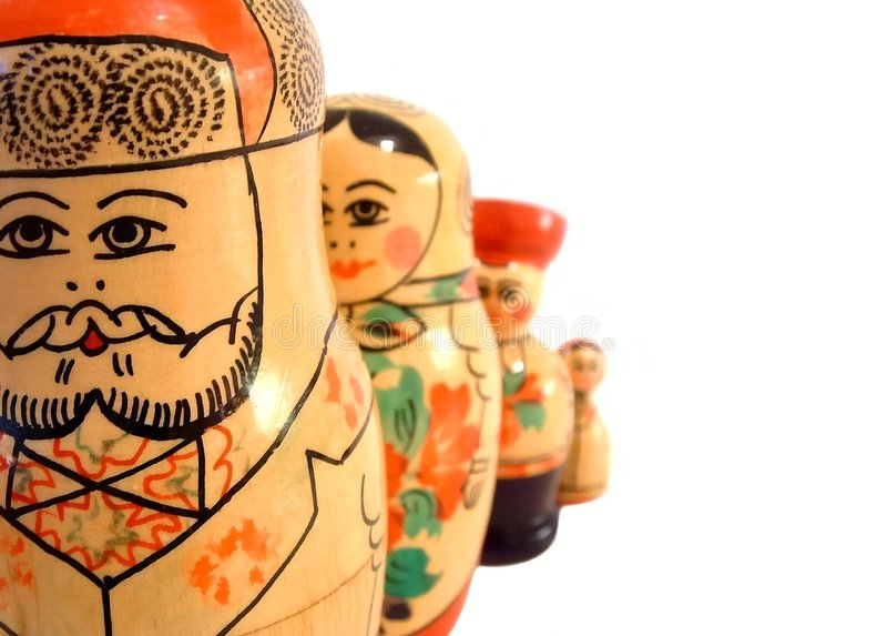 Download Russian Dolls stock image. Image of siblings, four, family - 188615
