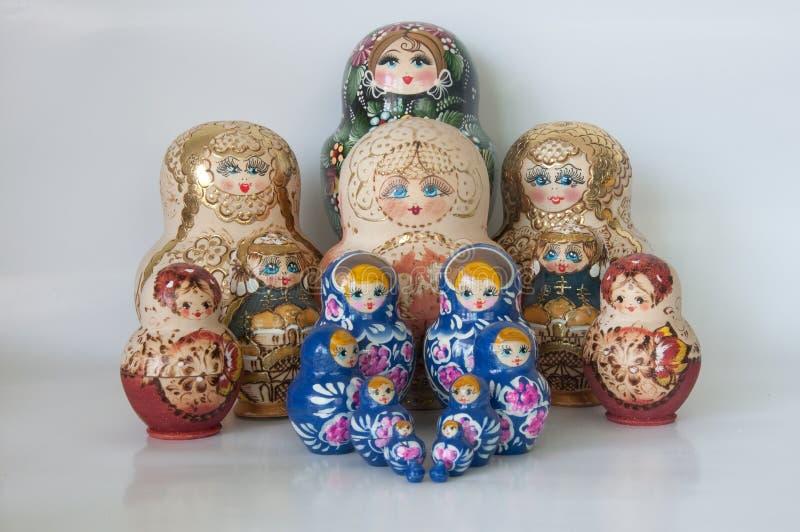 Russian Dolls royalty free stock photo