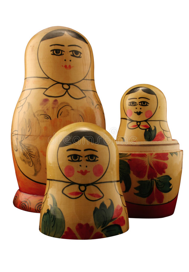 Free Russian Dolls Royalty Free Stock Image - 627166