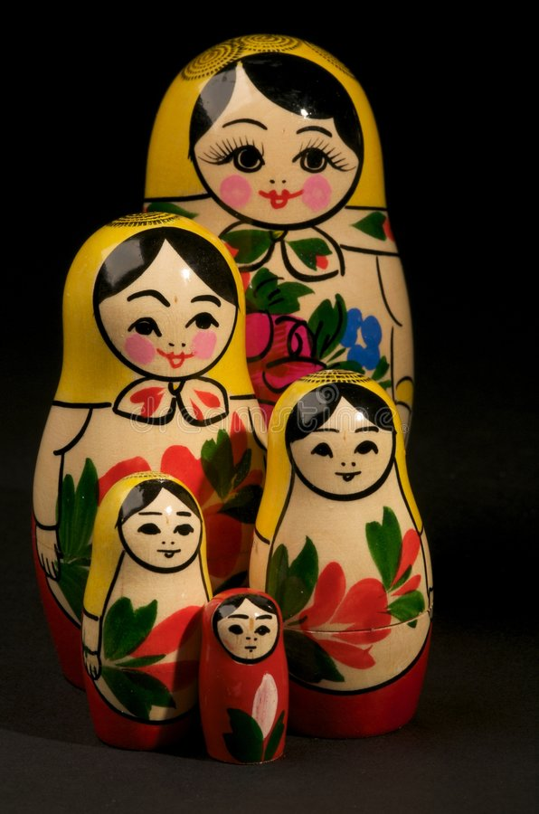 Free Russian Dolls Royalty Free Stock Photography - 6841157