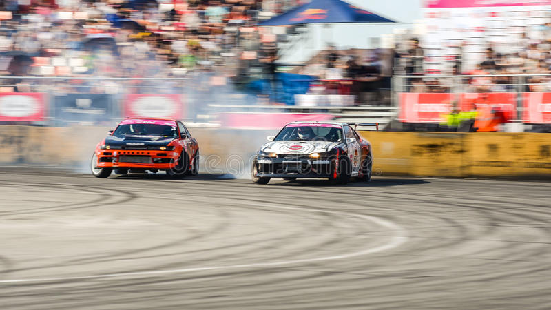 Russian Drift Series Stage 4 royalty free stock photos