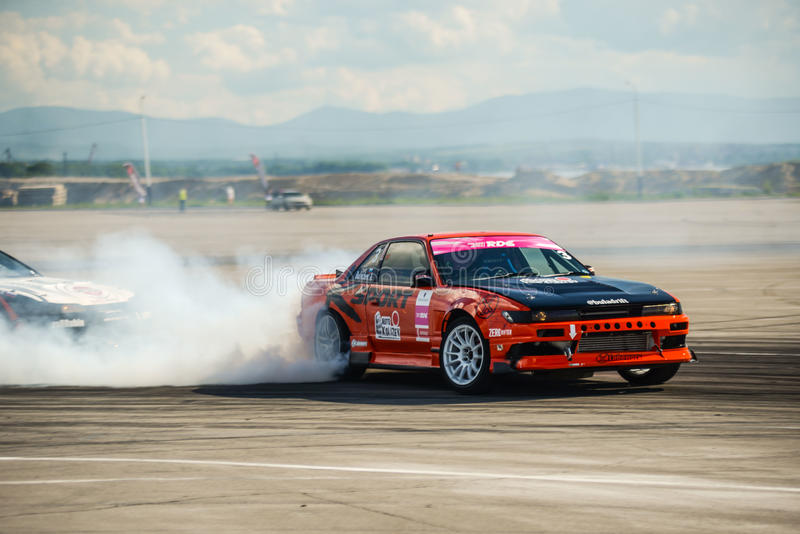 Russian Drift Series Stage 4 royalty free stock photo