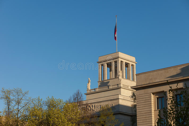 Russian Embassy in Berlin. The Russian Federation Embassy in Berlin, Germany stock image