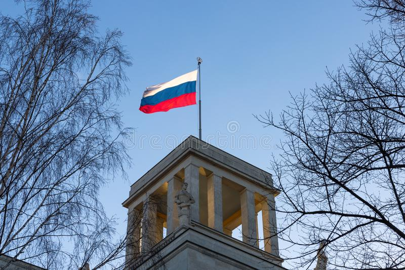 Russian embassy berlin germany. The russian embassy berlin germany royalty free stock images