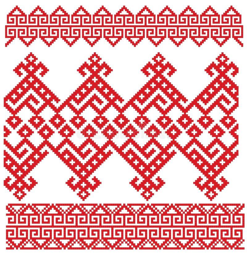 Russian embroidery folk
