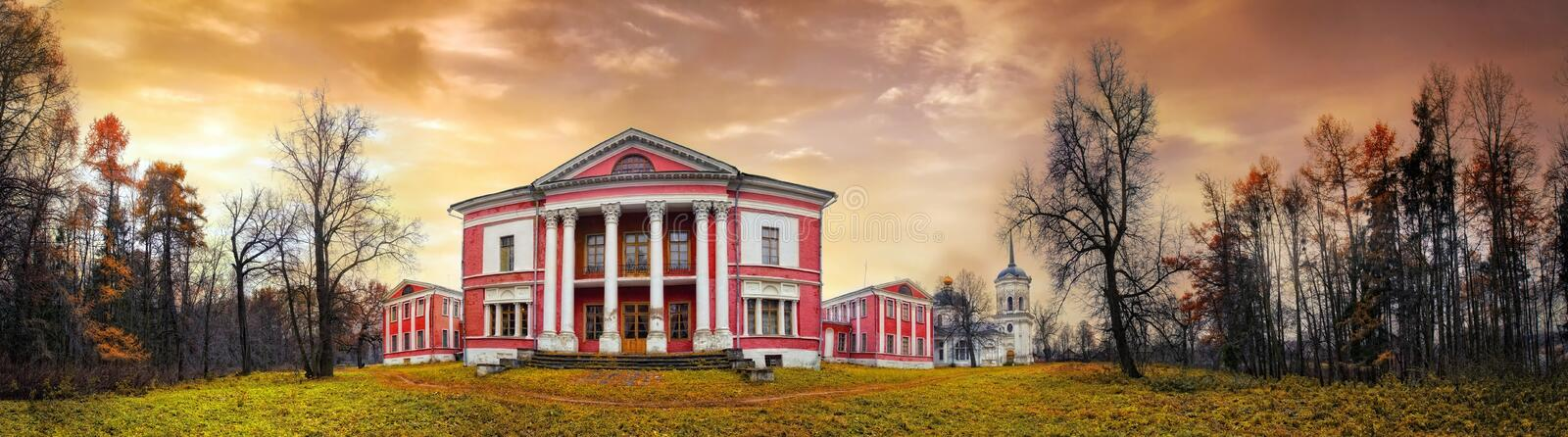 The russian estate royalty free stock photos