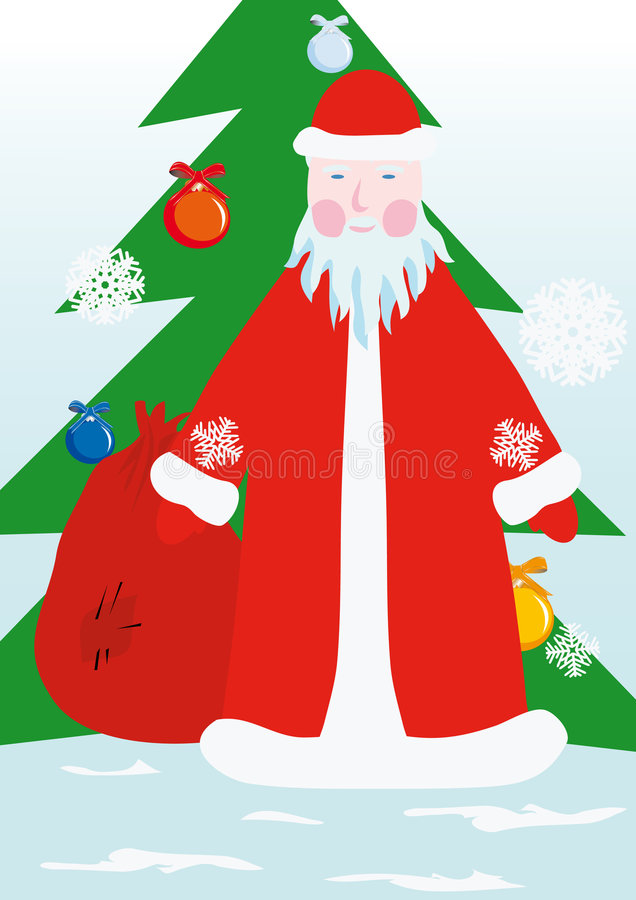 Download Russian Grandfather Frost Stock Photo - Image: 7340960