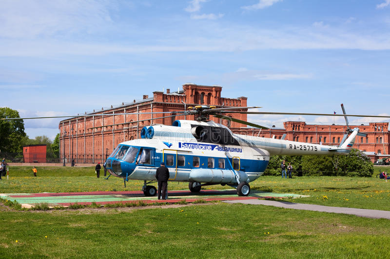 Download Russian Helicopter In Saint-Petersburg, Russia Editorial Image - Image: 19814175