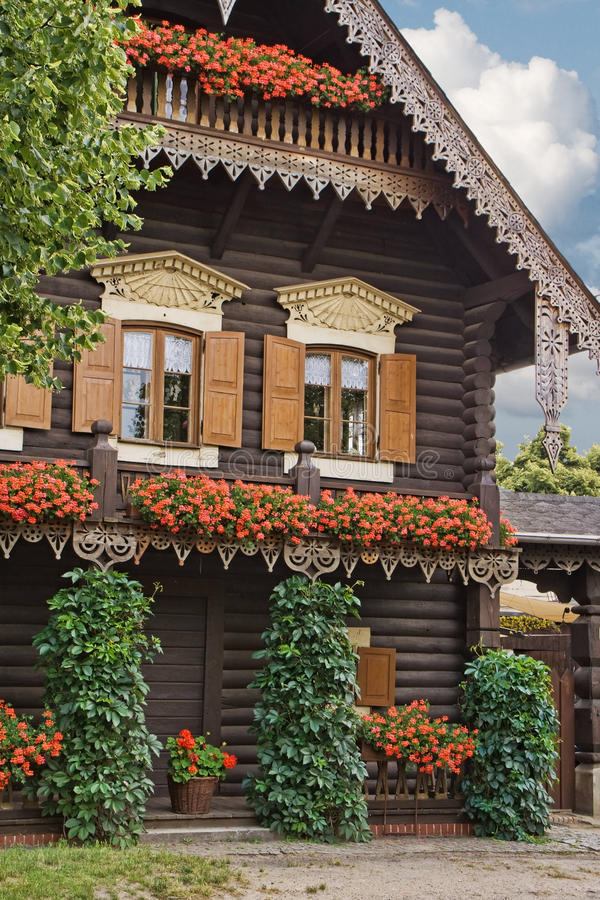 Russian House royalty free stock image