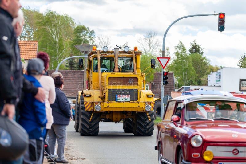 Russian Kirowez K 700 tractor stock photo