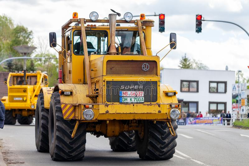 Russian Kirowez K 700 tractor royalty free stock images