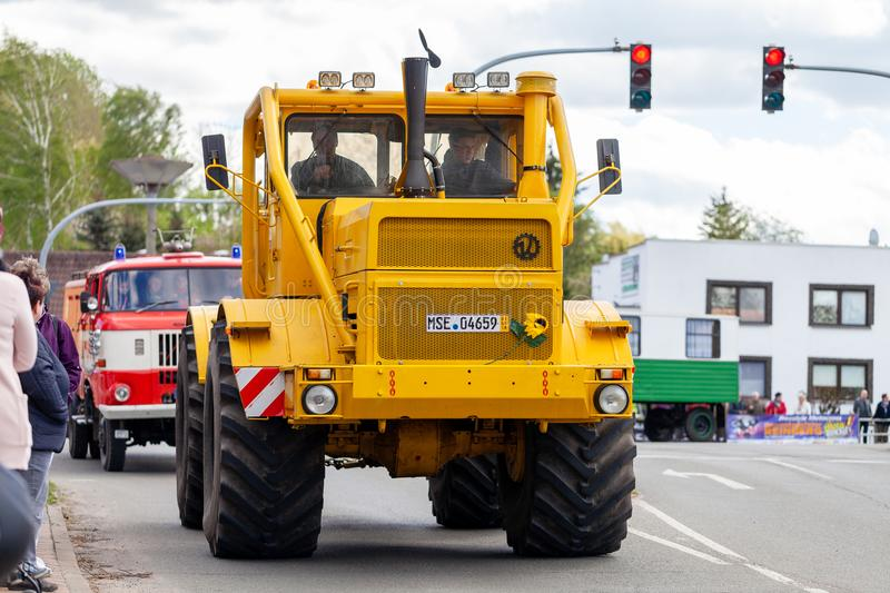 Russian Kirowez K 700A tractor royalty free stock photos