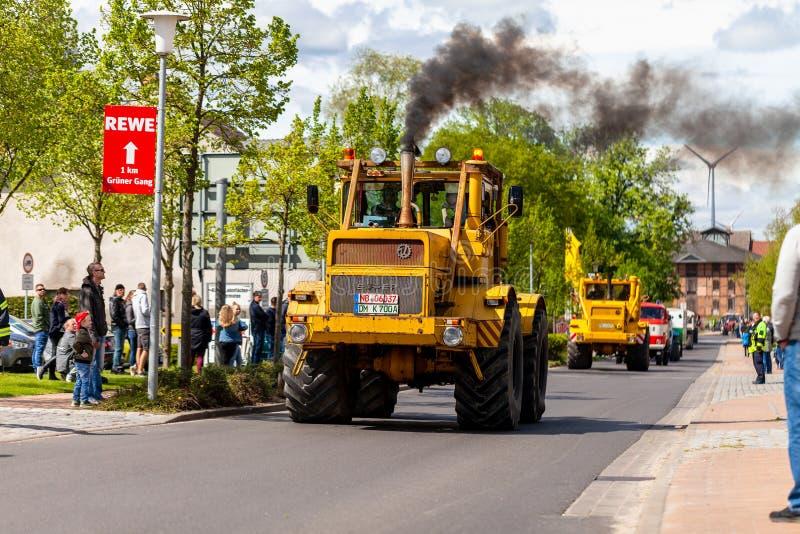 Russian Kirowez K 700 tractor stock photos