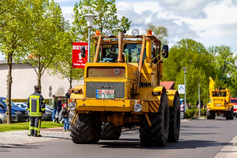 Russian Kirowez K 700 tractor royalty free stock image