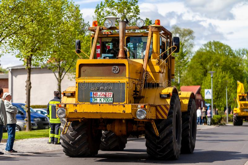 Russian Kirowez K 700 tractor stock photography