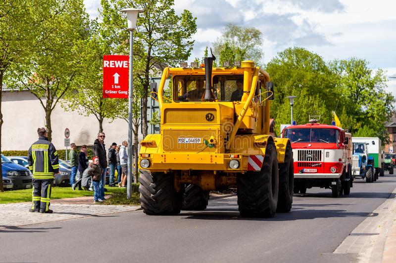 Russian Kirowez K 700A tractor royalty free stock photo