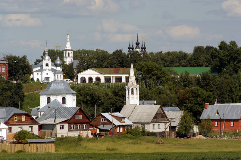Russian landscape royalty free stock image