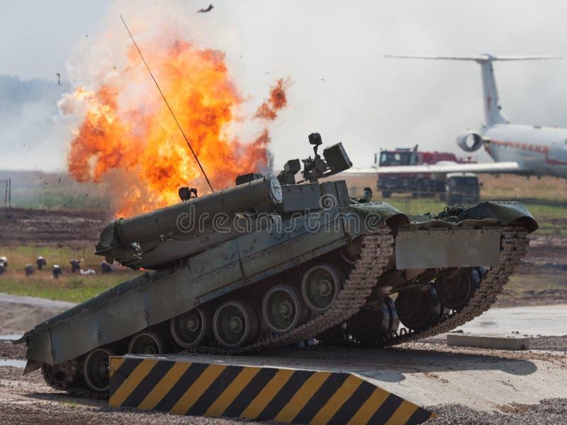 Download Russian main battle tank stock photo. Image of communications - 25520472