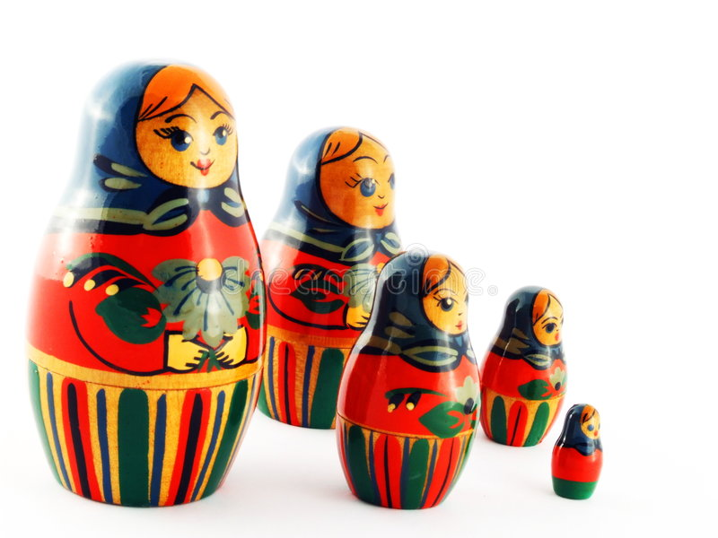 S And B Filters >> Russian Matroska Doll Family Stock Image - Image of russian, nested: 3322147