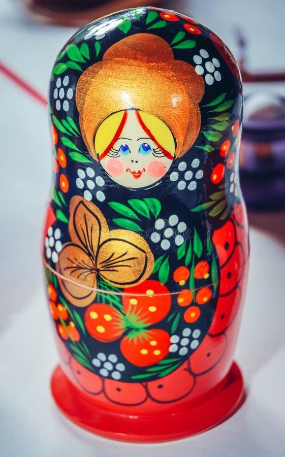 Russian Matryoshka doll stock images