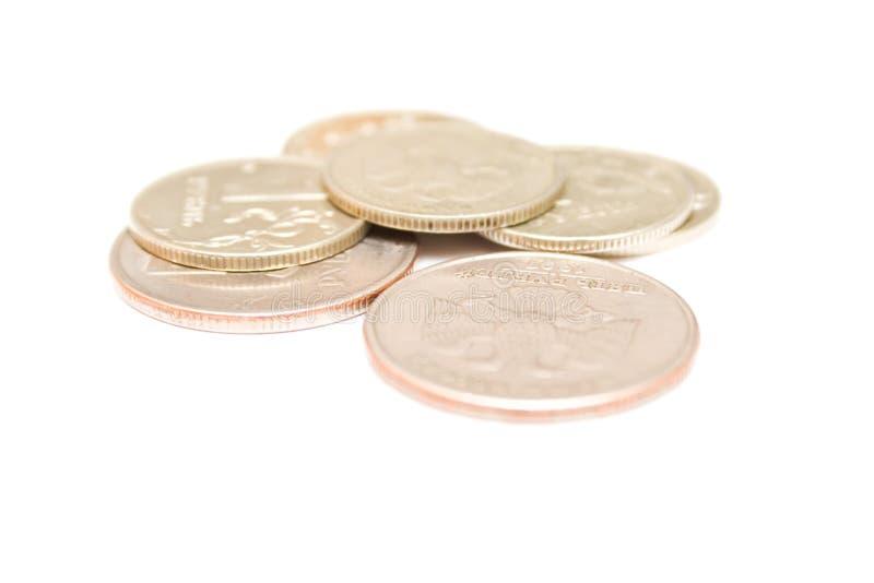 Russian metallic money royalty free stock photos