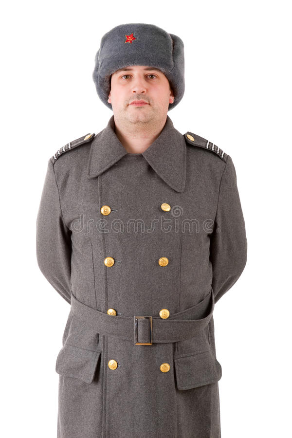 Russian military royalty free stock photo