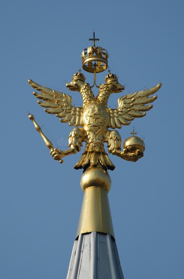 Russian National Emblem stock photos