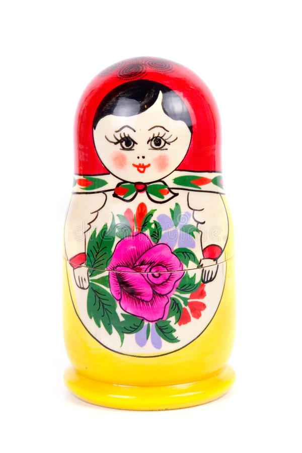 Russian nesting doll stock photos
