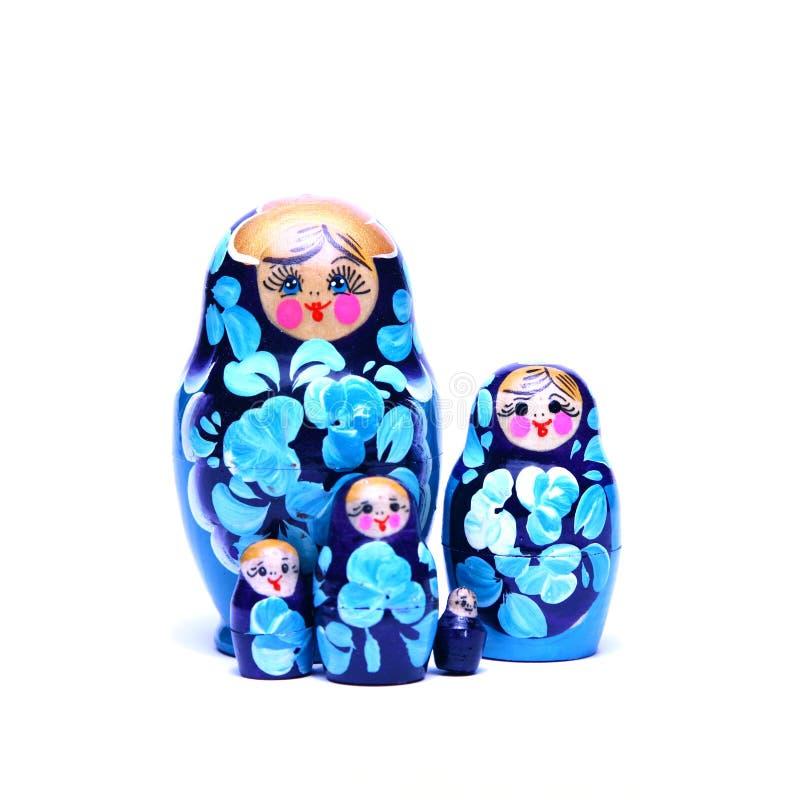 Russian nesting dolls stock image