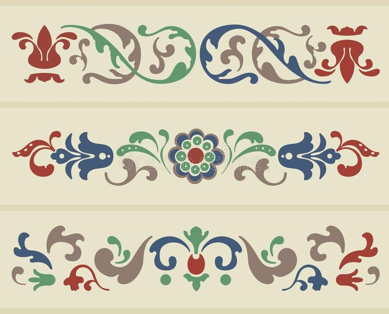Download Russian Ornament stock vector. Image of curl, decorative - 21331319