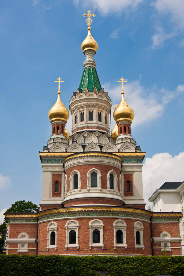 Download Russian orthodox church stock image. Image of cathedral - 18541837