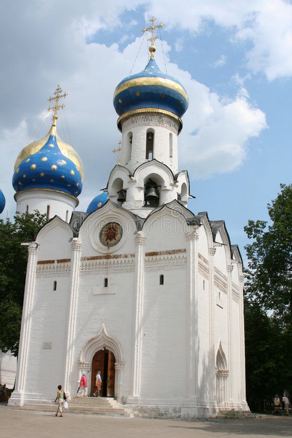 Download Russian orthodox church stock image. Image of monastery - 4076335