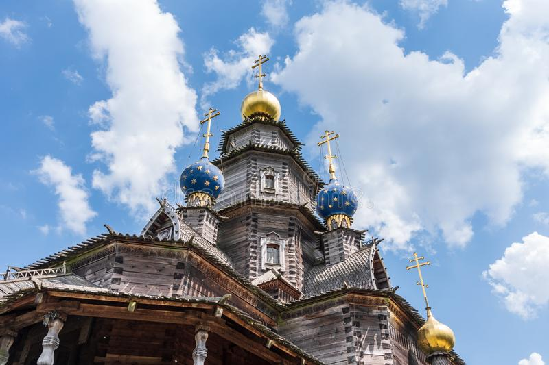 Russian Orthodox Church In Gifhorn, Germany Stock Photo