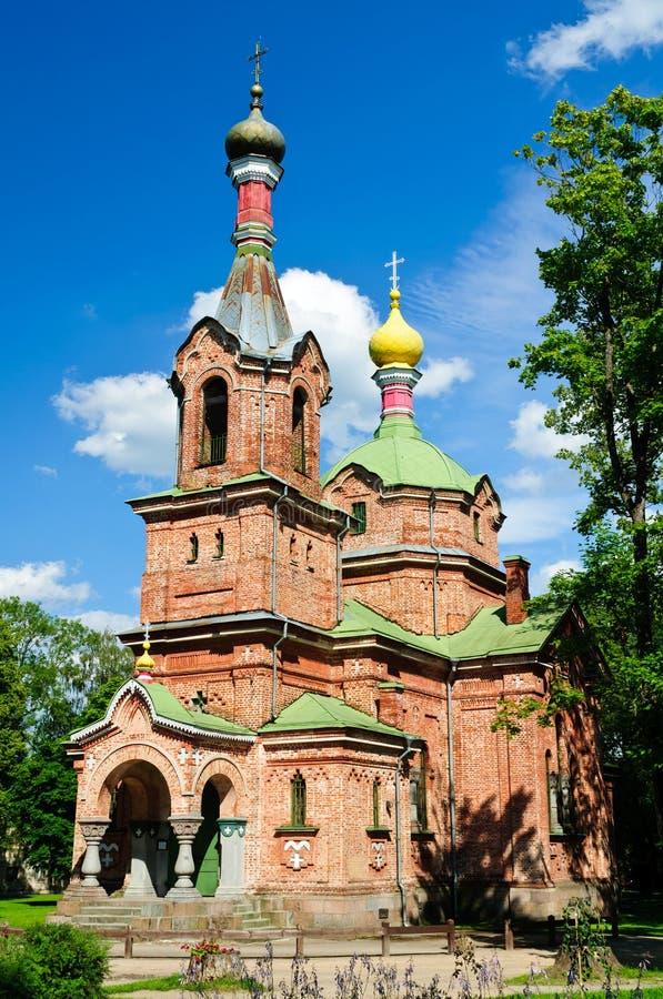 Free Russian Orthodox Church In Kuldiga Royalty Free Stock Photos - 29774228