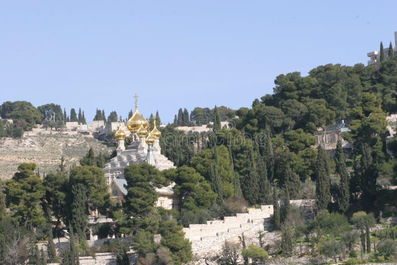 Russian Orthodox Church Jerusalem Israel royalty free stock photo